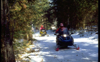 Snowmobiling – Like A Sledding Hill That Just Goes On And On