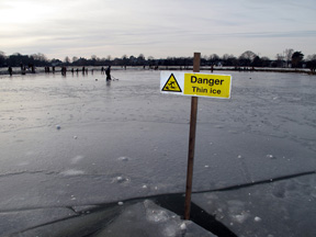 On Thin Ice – Teaching Kids The Dangers Of Ice