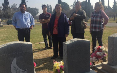 Headstone Chaos At Mountain View Cemetery – Fresno, CA