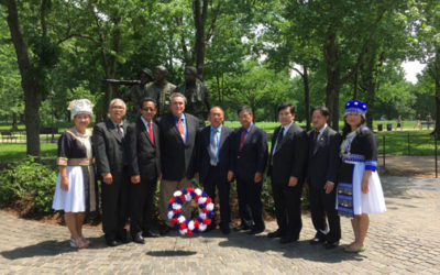 Laos, Hmong Veterans Honored At National Ceremonies At Arlington National Cemetery, Vietnam Veterans Memorial