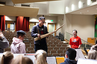 HCPA, Moorhead Middle School Bands Form Unique Collaboration