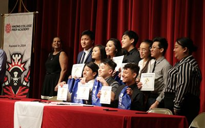 Hmong College Prep Academy Hosts Fourth Annual Senior Signing Day