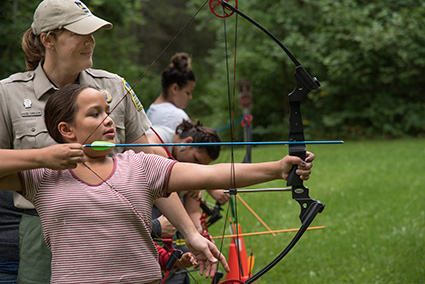 Archery In The Parks Programs Teach How To Shoot An Arrow And Much More