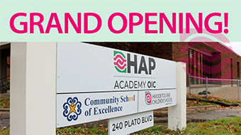 HAP Announces The Grand Opening Of HAP Academy OIC The First Of Its Kind In Minnesota