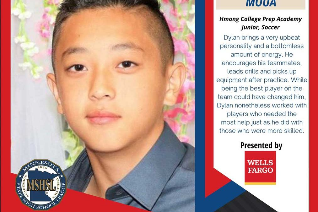 Moua Honored By The Minnesota State High School League