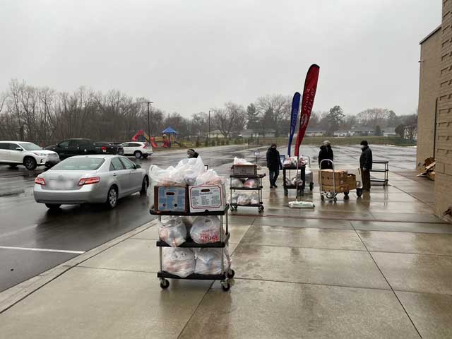 Grant Money Allowed Noble Academy To Feed Thousands