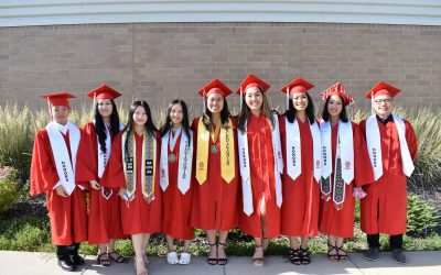 HCPA Announces Class of 2021 Top Ten Students